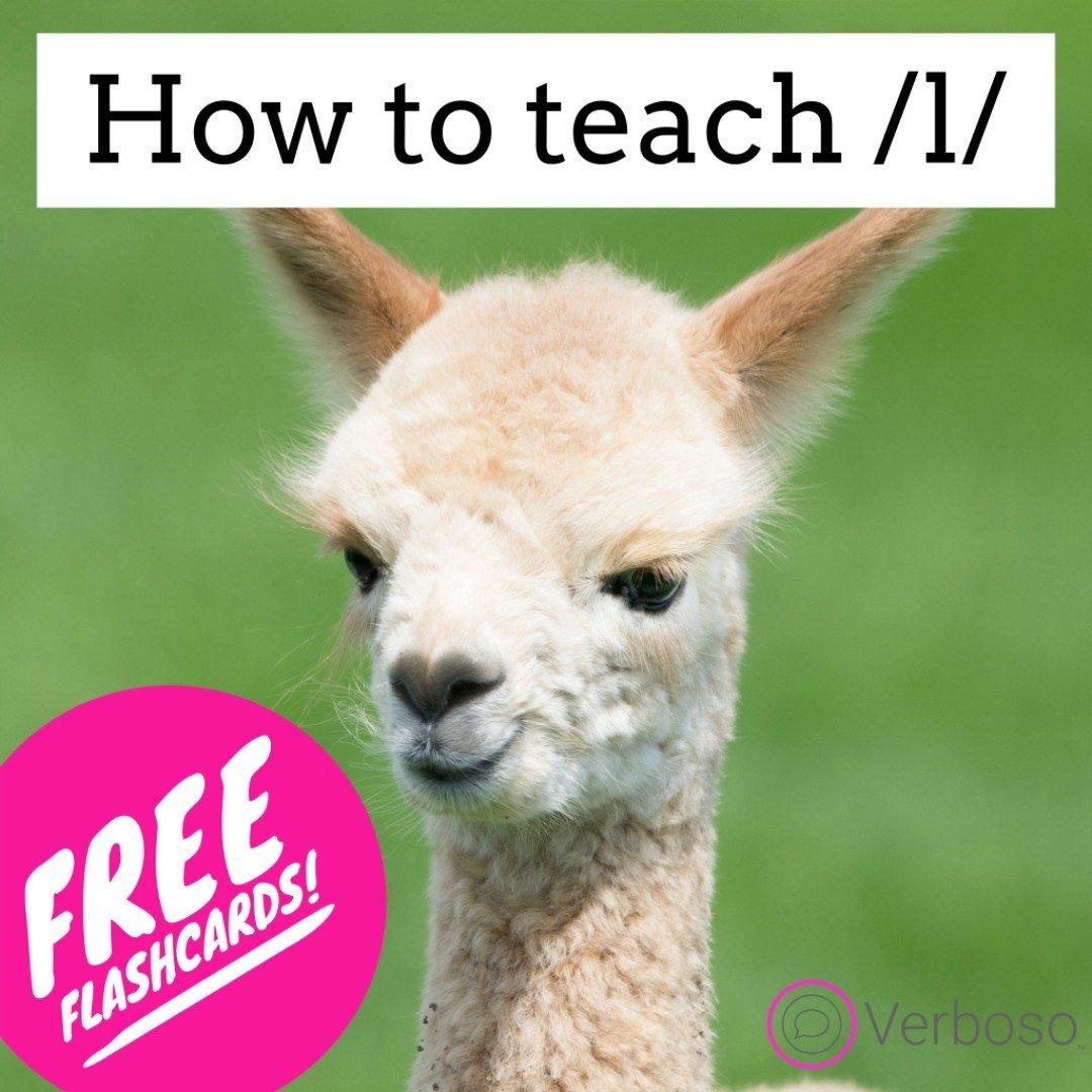 How to Teach /l/